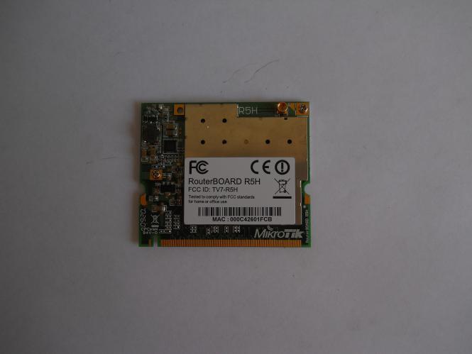 MikroTik RouterBOARD R5H (bazar)
